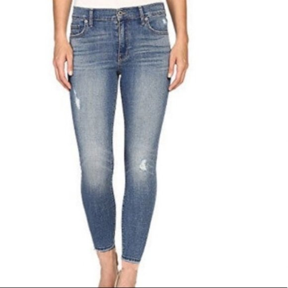 Lucky Brand Hayden Skinny Distressed Jeans - 6/28